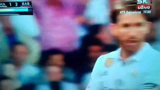 Sergio Ramos RED CARD AGAINST BARCELONA (FULL HD)