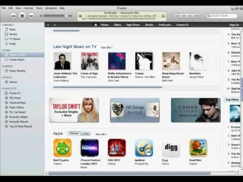 itunes How To Change The Store To Another Country (Simple)