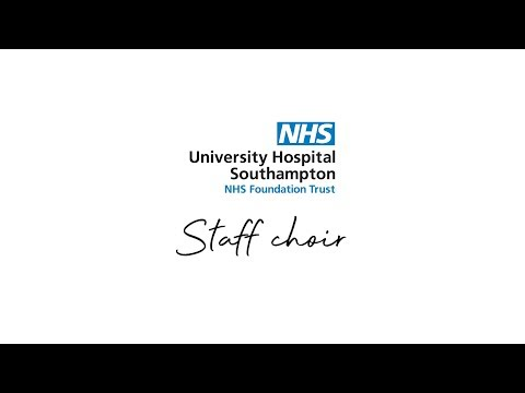 UHS staff choir - Somewhere Only We Know
