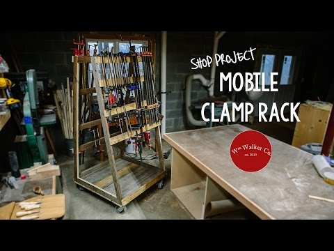 How to Build a Mobile Clamp Rack