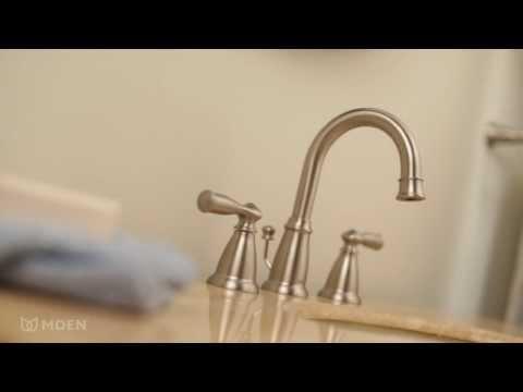 Banbury® Widespread Bathroom Sink Faucet | Moen Features Spotlight