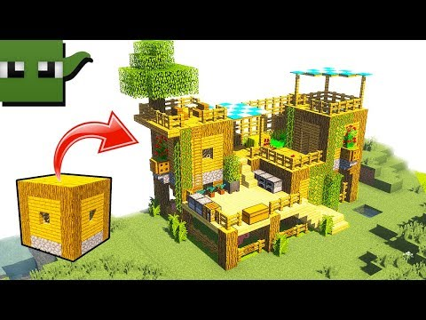 How to Transform Minecraft Village House into a Starter Survival Base