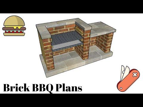 Bbq Pit Plans