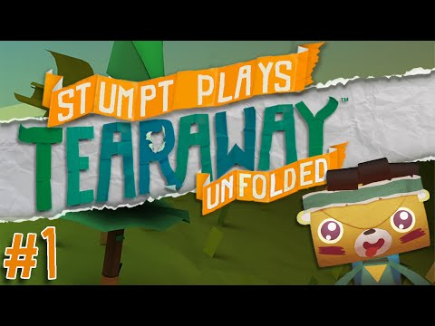 Tearaway Unfolded - #1 - The Bear Begins (PS4 Gameplay)