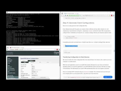 How to setup a VPN-server on your home router, (how to setup tomato VPN server)