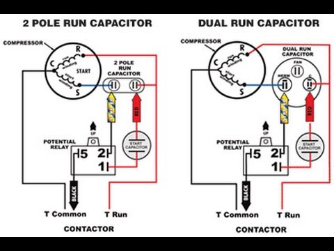 Start Capacitor Vs. Run Capacitor
