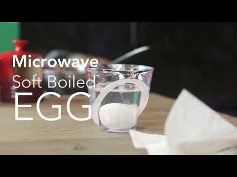 How To Make Soft Boiled Eggs in the Microwave