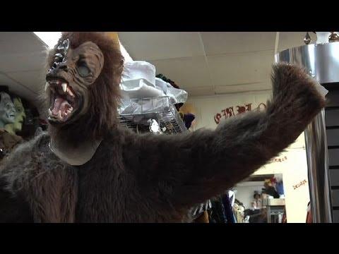 Werewolf Costume Instructions : Homemade Halloween Costume Ideas