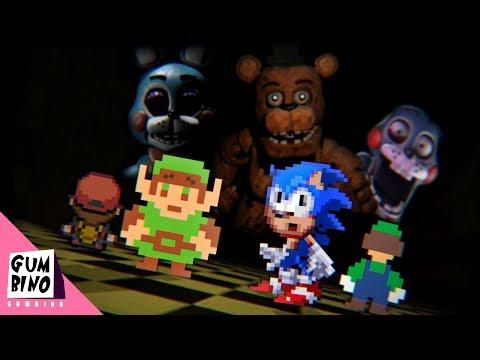 Gumbino: Video Game Competition (S01E03) Freddy's Pizzeria