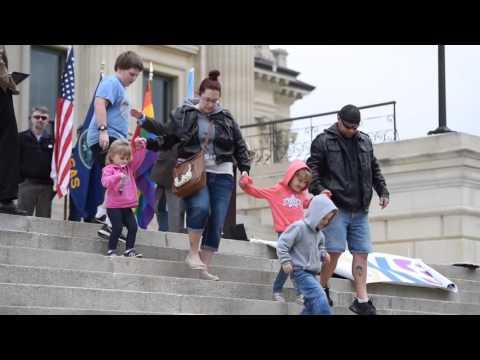 Transgender Protest at Kansas Capitol