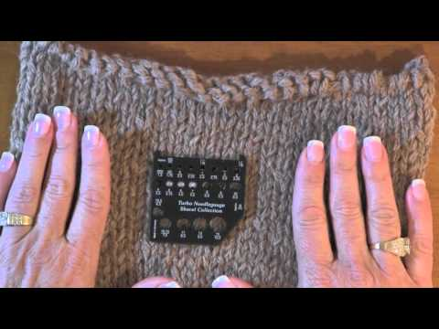 How to Do a Gauge Swatch