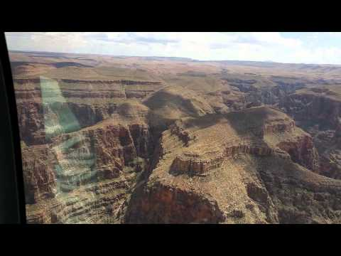Part of my helicopter tour of the Grand Canyon.