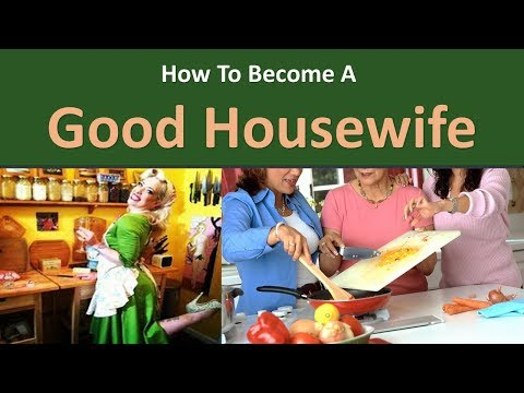 How to become a Good Housewife|Prepare (healthy) meals