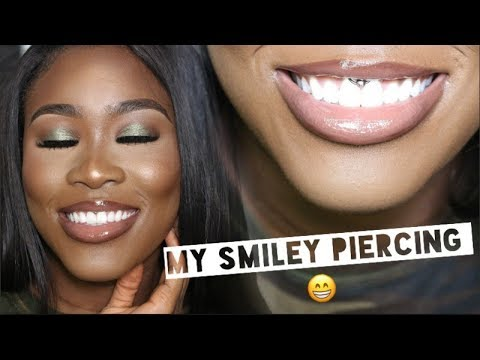ALL ABOUT MY SMILEY PIERCING 😁  | PAIN, HEALING, PRICE, PIERCER, JEWELLERY AND MORE!