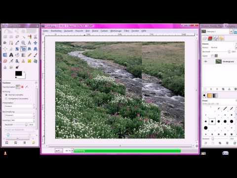 Bildinformation, Größe und Auflösung in Gimp