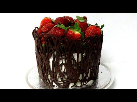 how to make chocolate wrap cake