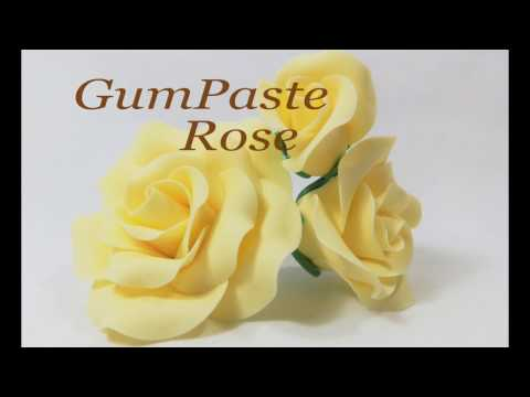 Standard GumPaste Rose Tutorial
