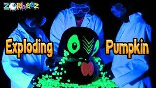 Exploding Zorbeez Glow Pumpkin!   Official Zorbeez