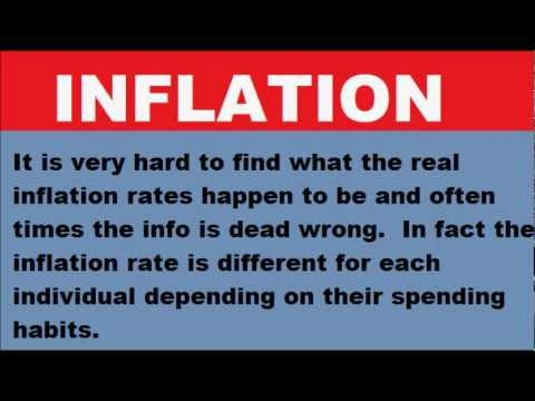 Calculating your inflation rate
