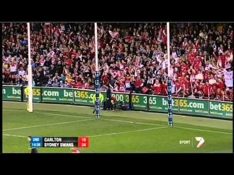Round 19 AFL - Carlton v Sydney Swans highlights