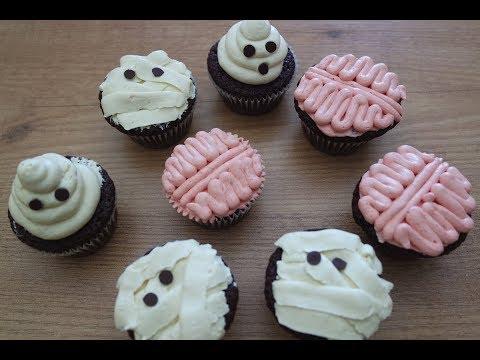 HALLOWEEN CHOCOLATE CUPCAKES | EM'S BAKING