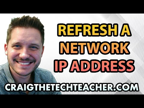 How To Refresh A Windows 10 Network IP Address