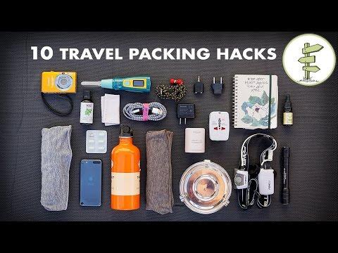 10 Essential Travel Packing Tips & Hacks - Minimalist Traveling