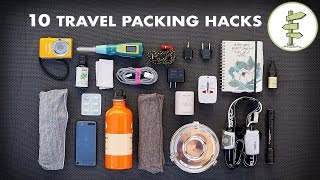 10 Essential Travel Packing Tips & Hacks - Minimalist Traveling