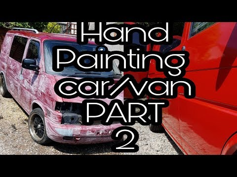 Hand painting your car or van (part 2)