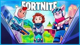 Doing Mid90s w/ Sunny Suljic in Fortnite: Battle Royale! (Fortnite Funny Moments & Fails)
