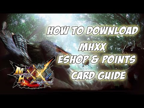 MHXX Switch ver. | How to download & eShop Card Guide