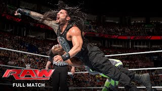 FULL MATCH - The New Day vs. Roman Reigns & Randy Orton – Handicap Match: Raw, May 4, 2015