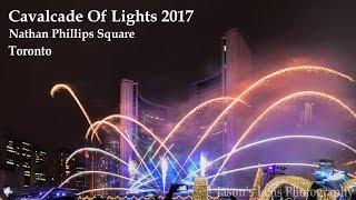 Cavalcade of Lights 2017 Firework Nathan Phillips Square Toronto | Christmas Festival Event