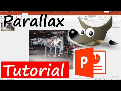 Parallax Effekt mit Powerpoint und GIMP | Tutorial