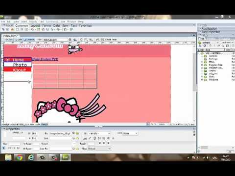 How to edit web template by Dreamweaver?