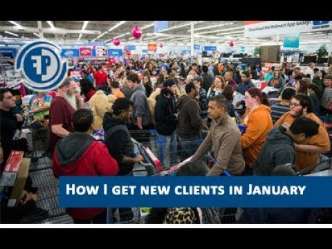 How I get new clients in January