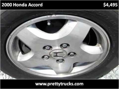 2000 Honda Accord Used Cars Monroe NC