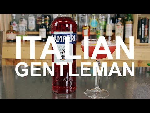 NEGRONI WEEK: Italian Gentleman Cocktail Recipe