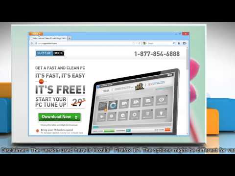 How to disable cookies tracking in Mozilla® Firefox on a Windows® 8 PC
