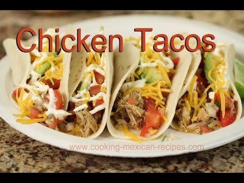 Slow Cooker Chicken Tacos | Rockin Robin