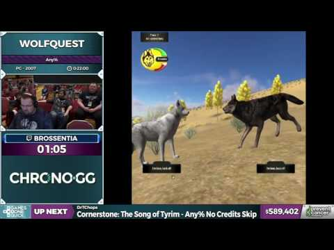 Wolfquest by brossentia in 18:25 - AGDQ 2017 - Part 112