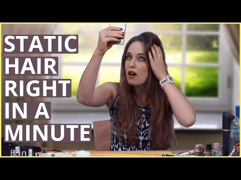 SET STATIC HAIR RIGHT IN A MINUTE