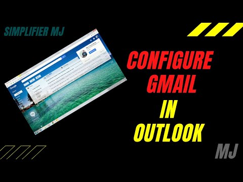 How to configure Gmail for Outlook 2010 in Hindi in simple steps