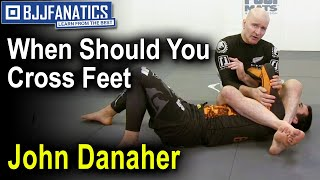 Front Triangles Top Position Passing Guard by John Danaher - PakVim