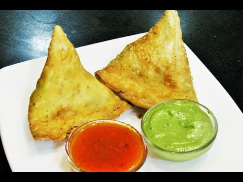 How To Make Aloo/Potato Samosa - Easy Crispy Crunchy Samosa Recipe by madhurasrecipe