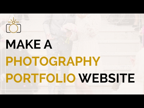 How to create an online Photography Portfolio with WordPress from scratch