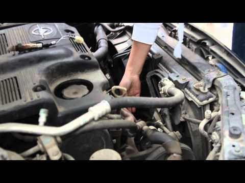 How to visibly clean catalytic converter-part1-Okay VCS2000 so easy operation!