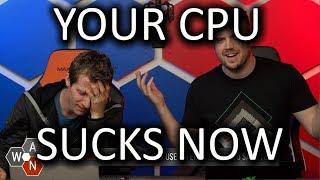 Userbench CPU score DRAMA - WAN Show Aug 9, 2019