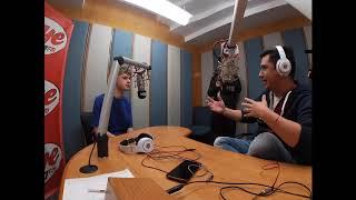 Interview with HRVY !!! México Oye 89.7 FM