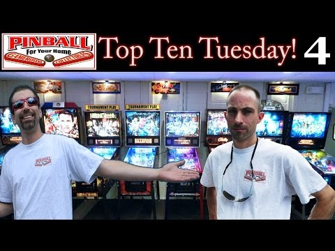 Top Ten Tuesdays #4 - Favorite Non-Licensed Themes / Pinside Rant?